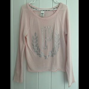 PINK Victoria's Secret  Knit Sweater Bling P Top